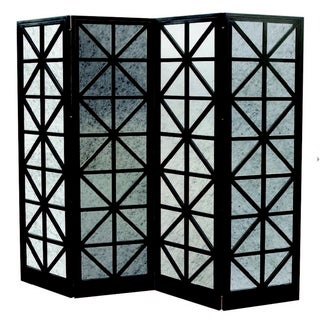 Oly Studio Antique Mirror Four-Panel Screen