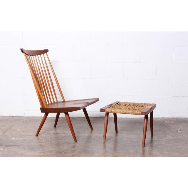 Walnut Lounge Chair by George Nakashima For Sale - Image 7 of 10