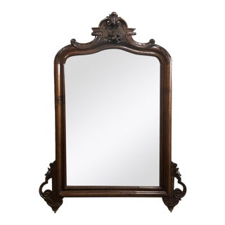 Louis Philippe Period Rosewood Mirror For Sale