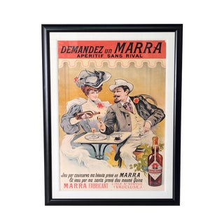 "Large Framed Poster ""Marra"" by Francisco Tamagno"
