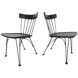 Lee Woodard Mid-Century Shovel Chairs - A Pair