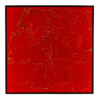 """""""A469 """" Contemporary Minimalist Acrylic Painting by Marco Schmidli, Framed For Sale"""