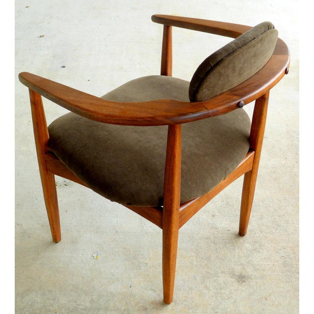 Adrian Pearsall Armchairs - A Pair For Sale - Image 9 of 10
