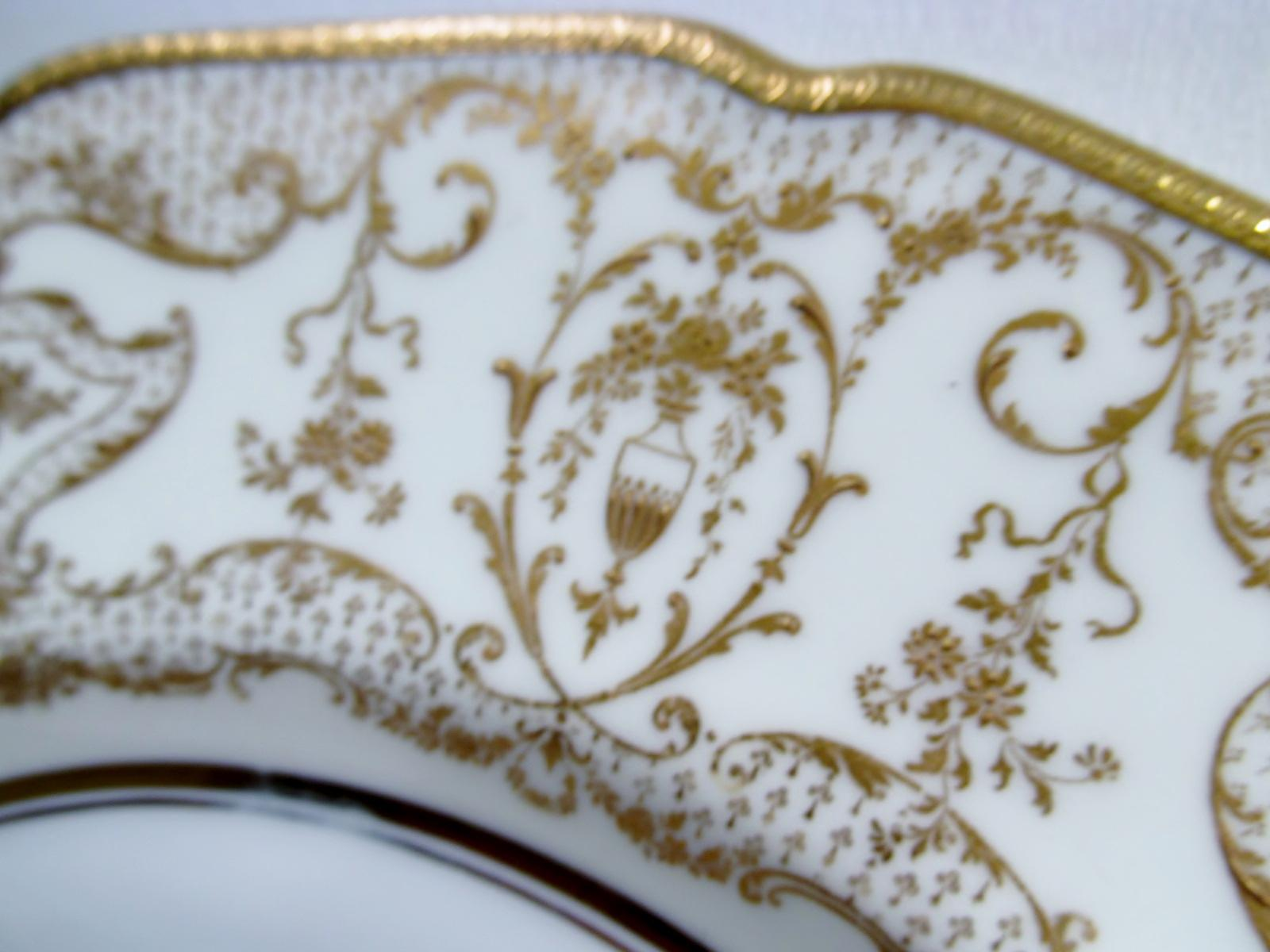 Antique Spaulding u0026 Co Royal Doulton Dinner Plates - Set of 10 - Image 4 of  sc 1 st  Chairish & Antique Spaulding u0026 Co Royal Doulton Dinner Plates - Set of 10 ...