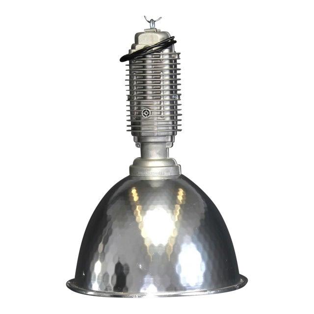 Large Vintage Industrial Ceiling Light, 1980 For Sale