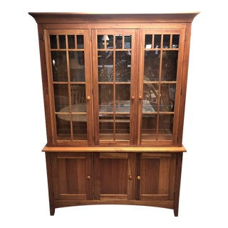 Ethan Allen Mission-Style Hutch