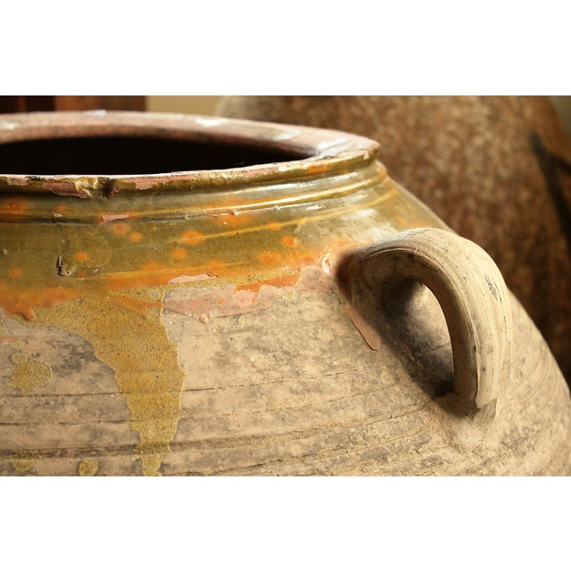 Large French Antique Pottery Urn - Image 3 of 4