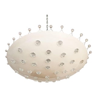 Mid-Century Large Chandelier by Emil Stejnar for Rupert Nikoll For Sale