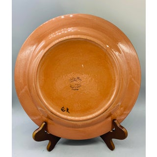 1940's Stangl Pottery Festival Chop Plate Preview