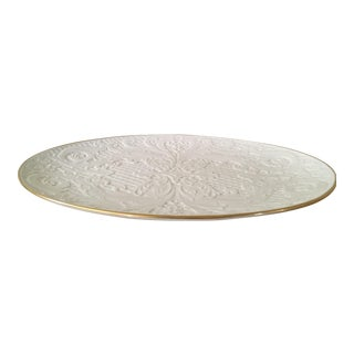 Lenox Dolphin Oval Serving Platter