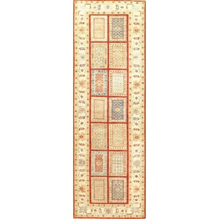 "Pasargad N Y Tabriz Design Lamb's Wool Runner Rug - 2'7"" X 8'6"" For Sale"