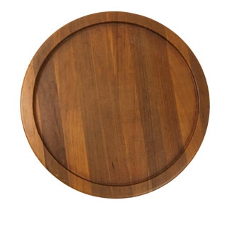 Digsmed Mid-Century Modern Teak Lazy Susan For Sale
