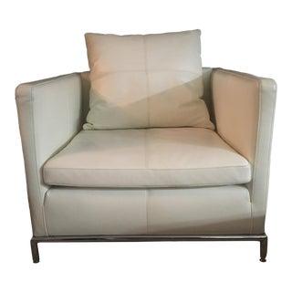 Modern Camerich Balance Cream White Model C0130001 Lounge Chair For Sale