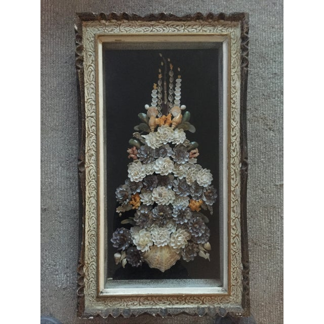 Shell Floral Wall Art - Image 3 of 6