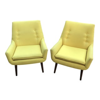 Jonathan Adler Mrs Godfrey Chairs - A Pair For Sale