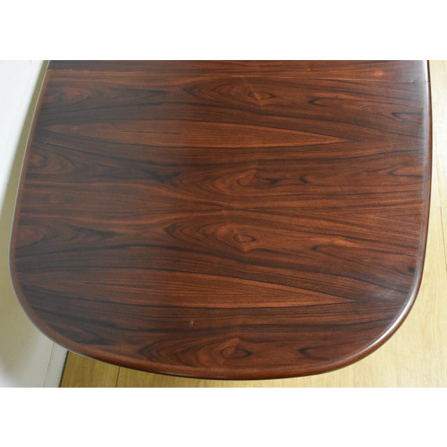 Danish Rosewood Dining Table - Image 6 of 11