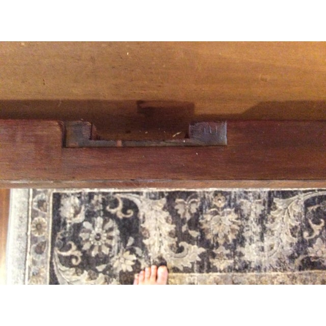 18th Century Antique Writing Cupboard For Sale - Image 4 of 11