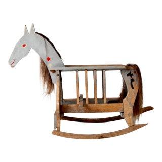 Antique Rocking Horse For Sale