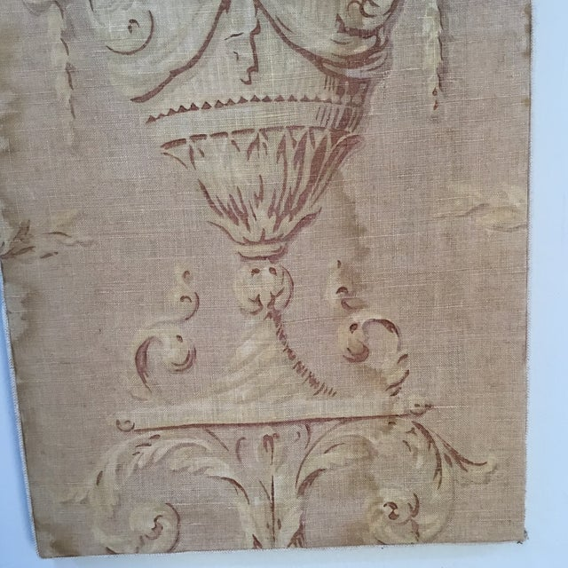 Late 18th Century 18th Century French Textile Printed Linen Panels - a Pair For Sale - Image 5 of 13