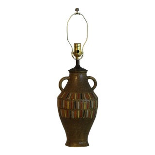 Bitossi Influence Italian Ceramic Table Lamp For Sale