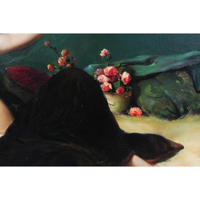 Reclining Female Oil Painting by N. Bingham - Image 5 of 8