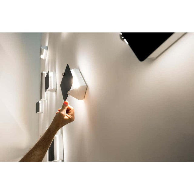 Charlotte Perriand 'Applique á Volet Pivotant' Wall Lights in Black - a Pair For Sale - Image 12 of 12