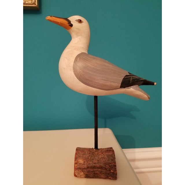 Ornate Carved Seagull in Space is the perfect collectible for anyone searching for home decor. Can fit in any home or...