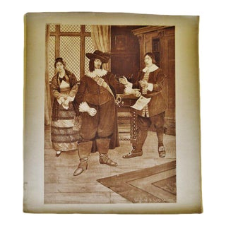 "Winfield S Lukens ""Barber of Seville Opera"" Photogravure For Sale"