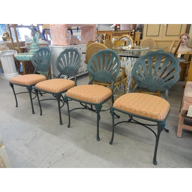 Vintage Shell Back Chairs - Set of 6 - Image 5 of 11