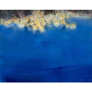 Original Walter Meigs Modern Abstract Oil Painting- Boca Raton Art Museum For Sale