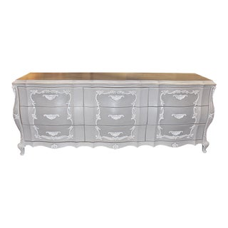 Painted Itallianette Triple Dresser For Sale
