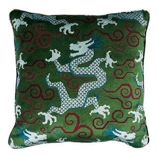 """Schumacher Bixi Velvet 22"""" Pillow"""