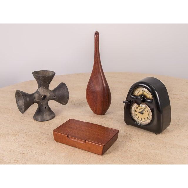 World Class Danish Modern Rosewood Bud Vase Decaso