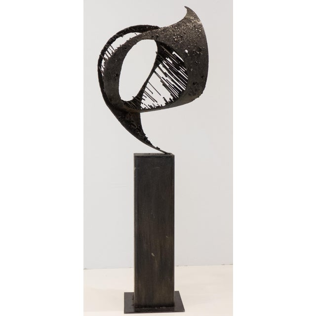 "Brutalist James Bearden Sculpture ""Passage"" For Sale - Image 3 of 9"