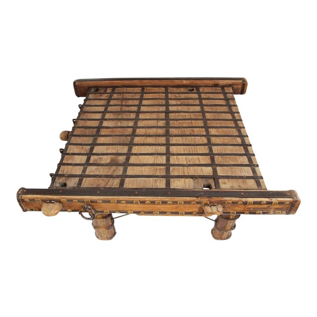 Ox Cart Coffee Table - Image 1 of 4