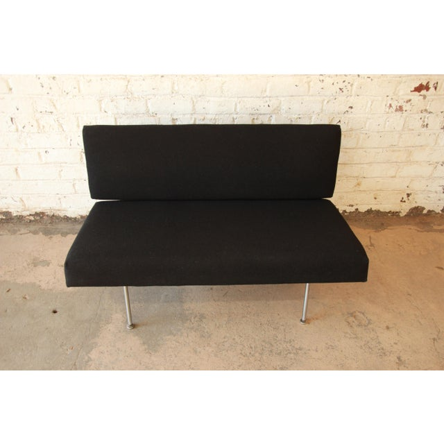 1950s Vintage Florence Knoll Settee - Image 5 of 9