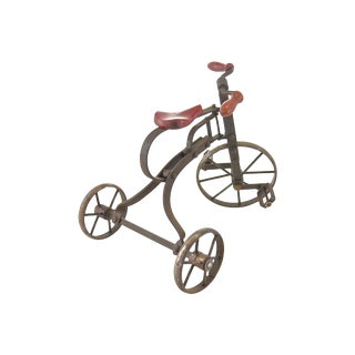 Teddy Bear's Miniature Tricycle