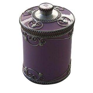 Lavender Ceramic Jar