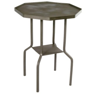 Handmade Octagonal Reclaimed Iron Table