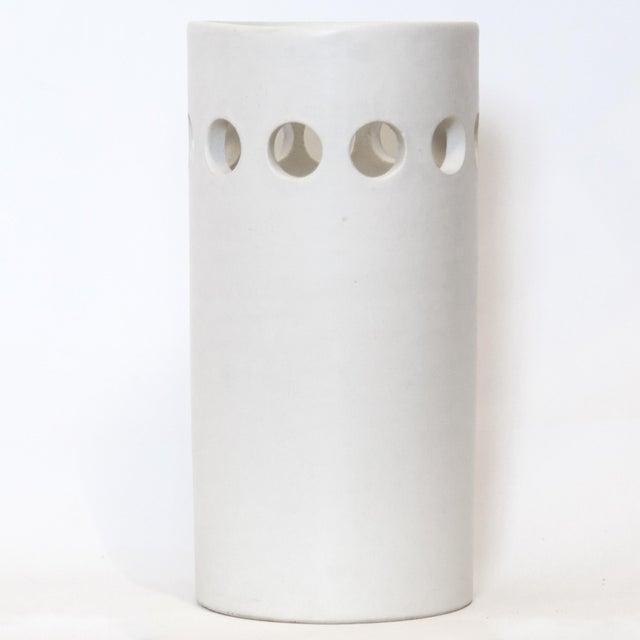 White White Bitossi for Rosenthal Netter Vase For Sale - Image 8 of 8