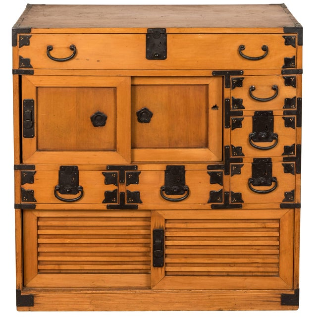 Antique Japanese Merchant's Chest For Sale - Image 10 of 10