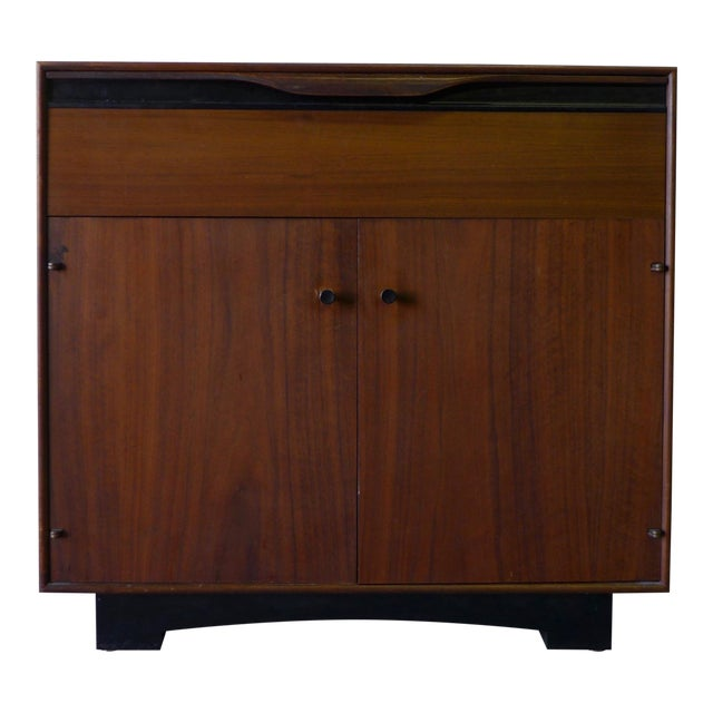 John Stuart Mid-Century Modern Nightstand Cabinet - Image 1 of 6