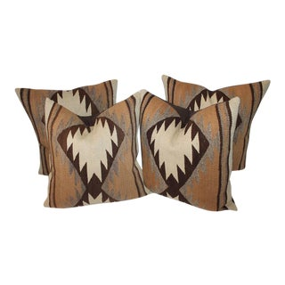 Early Transitional Navajo Indian Weaving Pillows For Sale