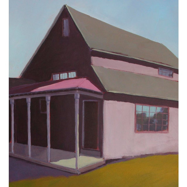 """Contemporary Carol C Young """"Ken's Barn"""" Painting, 2019 For Sale - Image 3 of 6"""