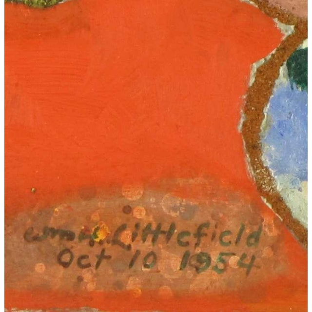 William H Littlefield (1902-1969) Abstract Mixed Media On Board For Sale In Chicago - Image 6 of 7