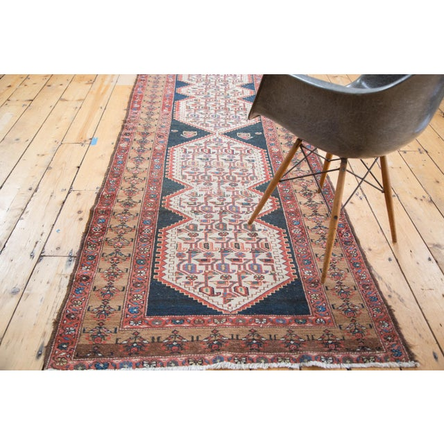 "Distressed Malayer Runner - 3'4"" X 9'2"" - Image 8 of 10"