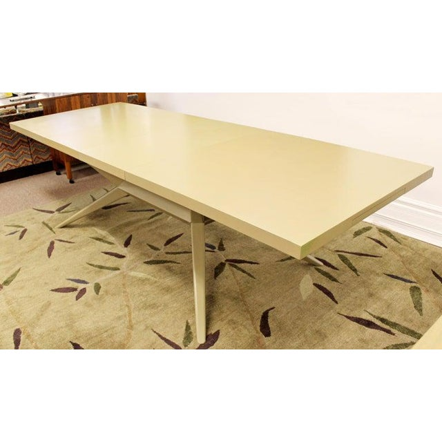 Mid-Century Modern Harold Schwartz for Romweber Credenza Dining Table & Chairs - 8 Pc. Set For Sale In Detroit - Image 6 of 10