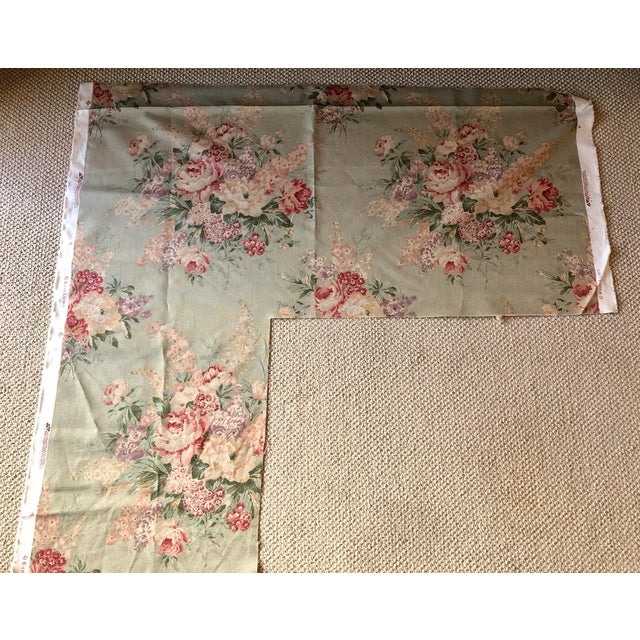 Ralph Lauren Shabby Chic Ralph Lauren Floral Fabric - 3/4 Yard For Sale - Image 4 of 6