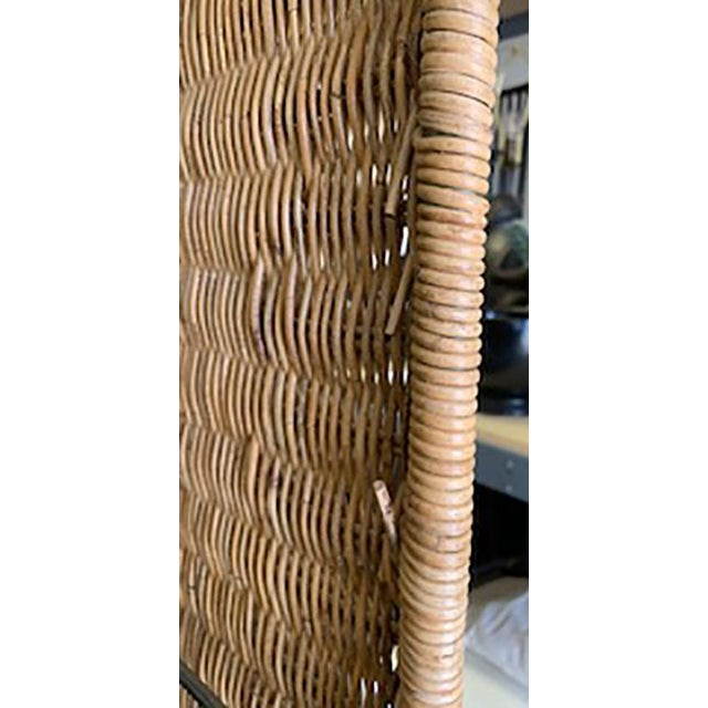 Wood Vintage Rattan Etagere by Danny Ho Fong For Sale - Image 7 of 10