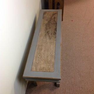 Vintage Hand-Crafted Wood Bench Preview